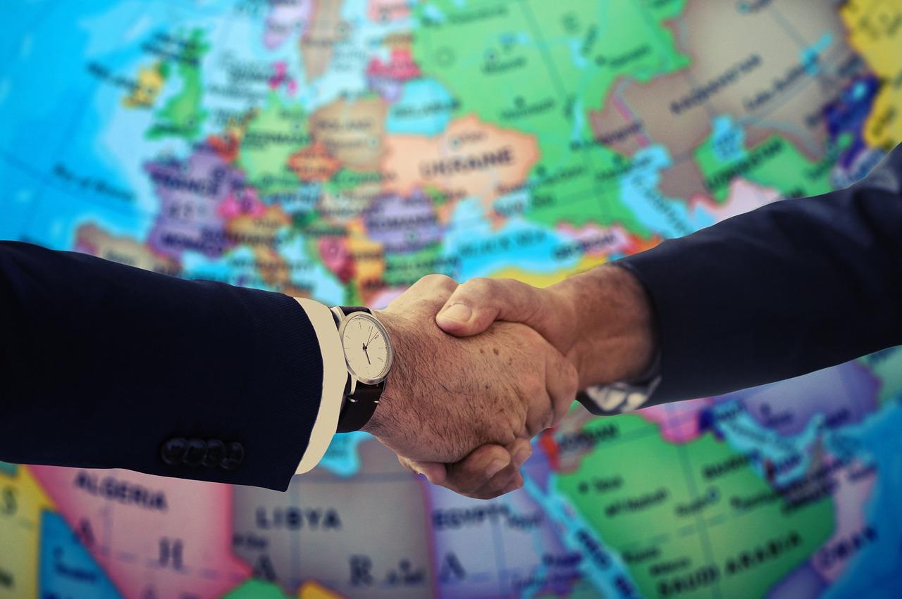 handshake, shaking hands, europe